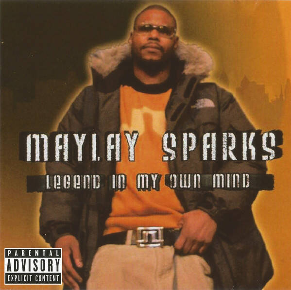Maylay Sparks ‎– Legend In My Own Mind CD