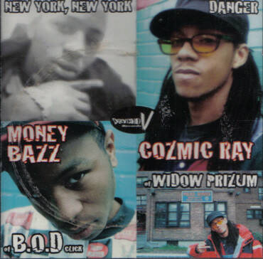 Money Bazz / Cozmic Ray ‎– New York, New York / Danger (Maxi-Single) CD