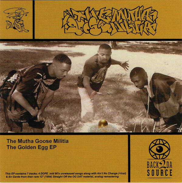 The Mutha Goose Militia ‎– The Golden Egg Vinyl EP