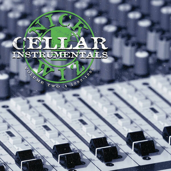 Nick Wiz ‎– Cellar Instrumentals Volume Two 2xCD (Back In Stock)