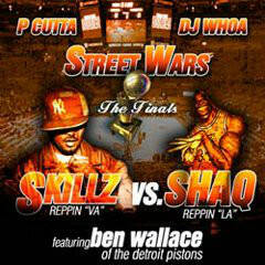 P Cutta, DJ Whoa, Skillz ‎– Skillz Vs. Shaq CD