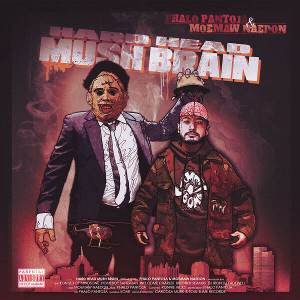 Phalo Pantoja & Moemaw Naedon ‎– Hard Head Mush Brain CD
