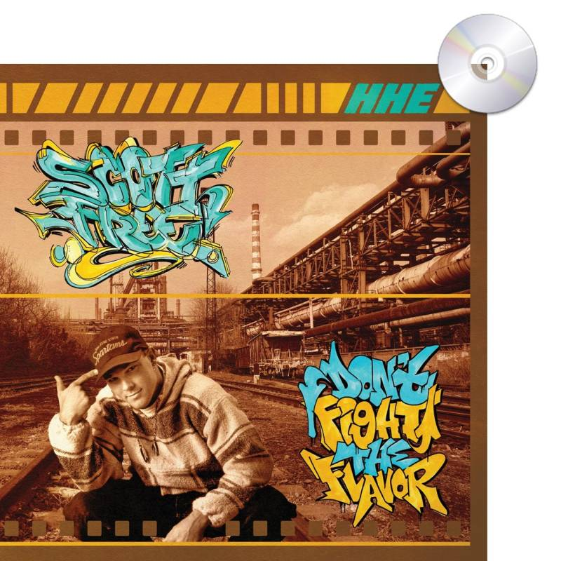 HHE008 / Scott Free - Don't Fight the Flavor CD