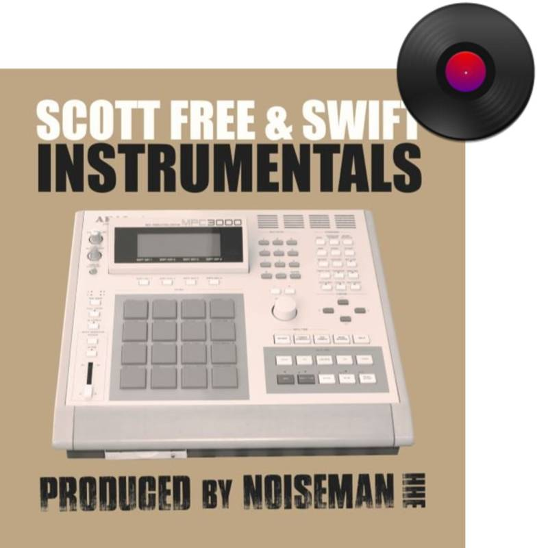 HHE012 / Scott Free & Swift - Instrumentals LP (Black or Sea foam)