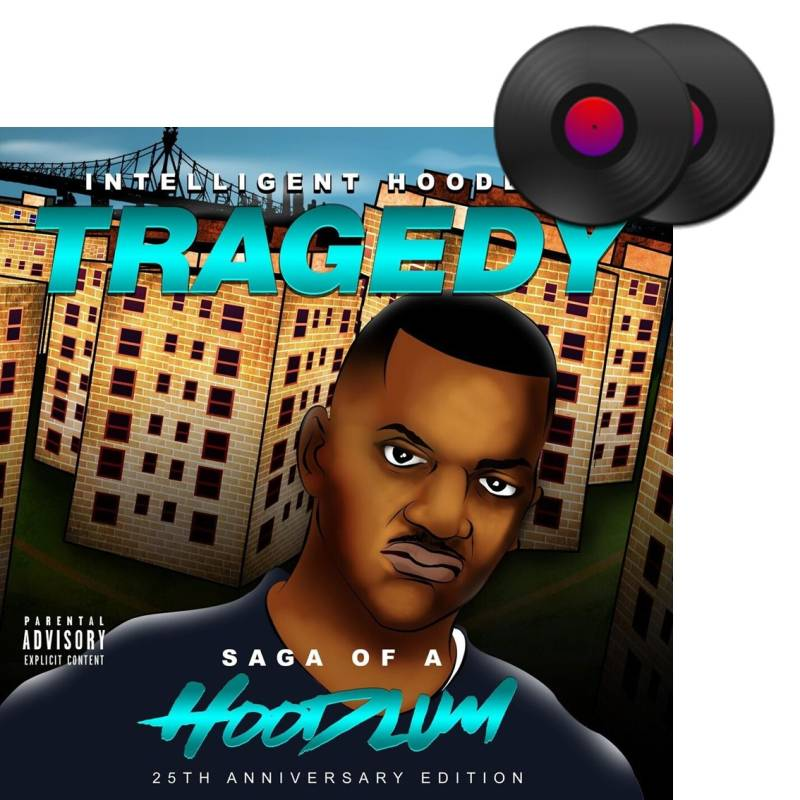 HHE006 / Intelligent Hoodlum - Tragedy: Saga of a Hoodlum 2xLP
