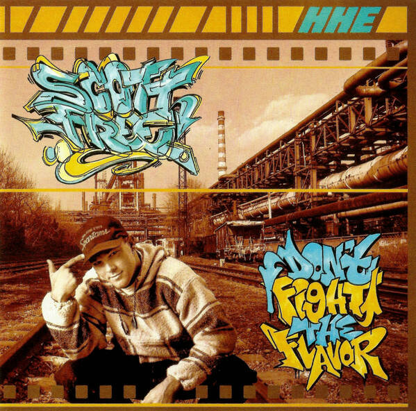 HHE008 / Scott Free - Don't Fight the Flavor EP (Side A/Side B Effect Blue/Yellow Coloured Vinyl)