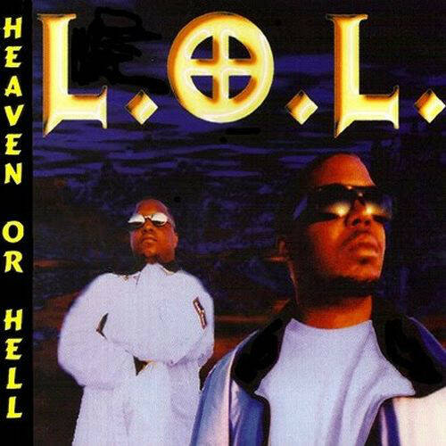 L.O.L. - Heaven Or Hell CD (White Disc Version)