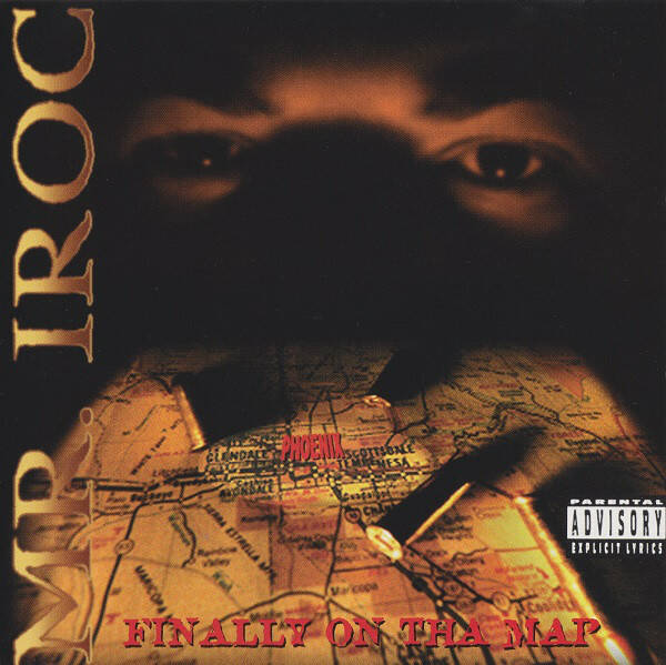 Mr. Iroc - Finally On The Map CD (1996 2ND PRESS EDITION)