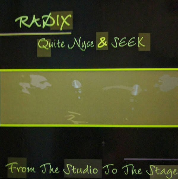 RADIx – From The Studio To The Stage CD