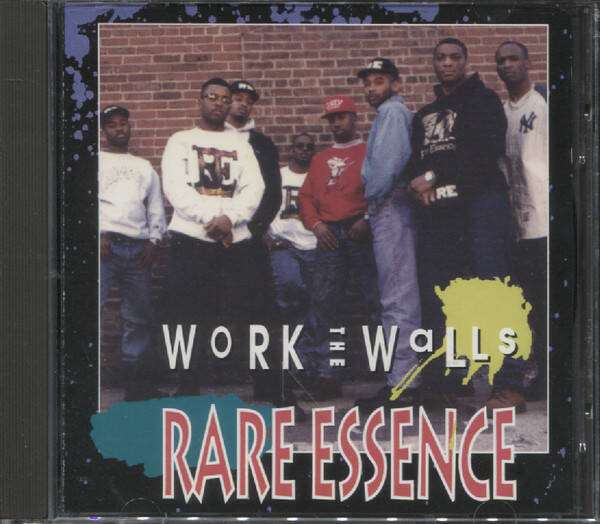 Rare Essence ‎– Work The Walls CD