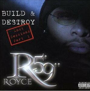 "Royce Da 5'9"" ‎– Build & Destroy: The Lost Sessions Part 1 CD"