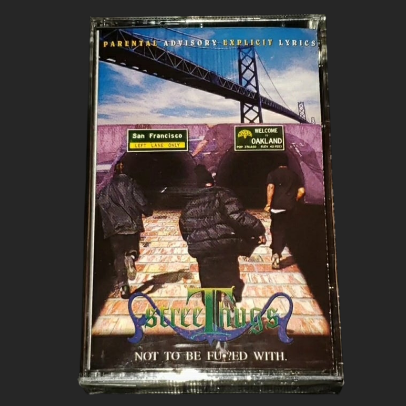 StreeThugs - Not To Be Fucked With Cassette (OG COPIES)