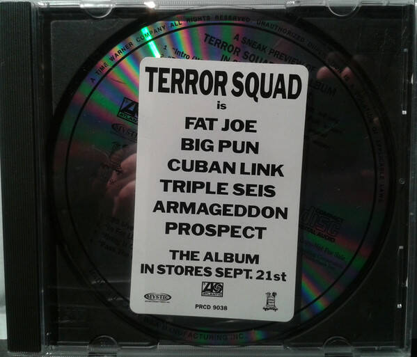 Terror Squad ‎– A Sneak Preview Of The Album (Promo) CD