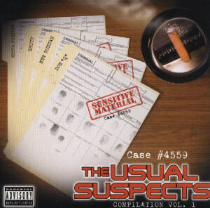 The Usual Suspects – The Usual Suspects Compilation Vol.1 CD
