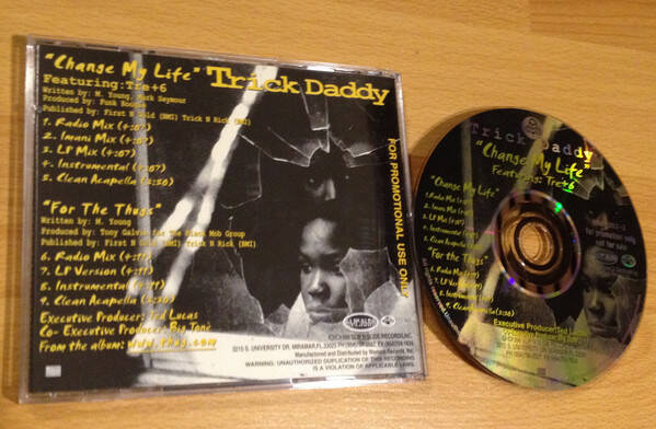 Trick Daddy ‎– Change My Life (Promo Single) CD