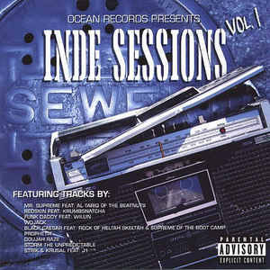 Various ‎– Inde Sessions Vol. 1 CD