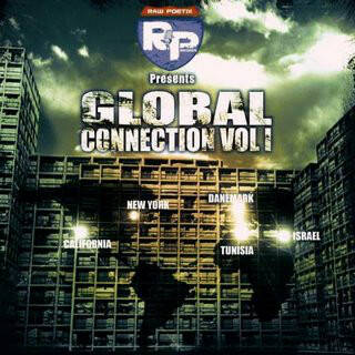 Various ‎– Raw Poetix Records Presents Global Connection Vol 1 CD