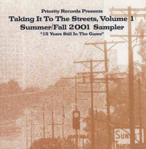 Various – Taking It To The Streets, Volume 1 Summer/Fall 2001 Sampler CD