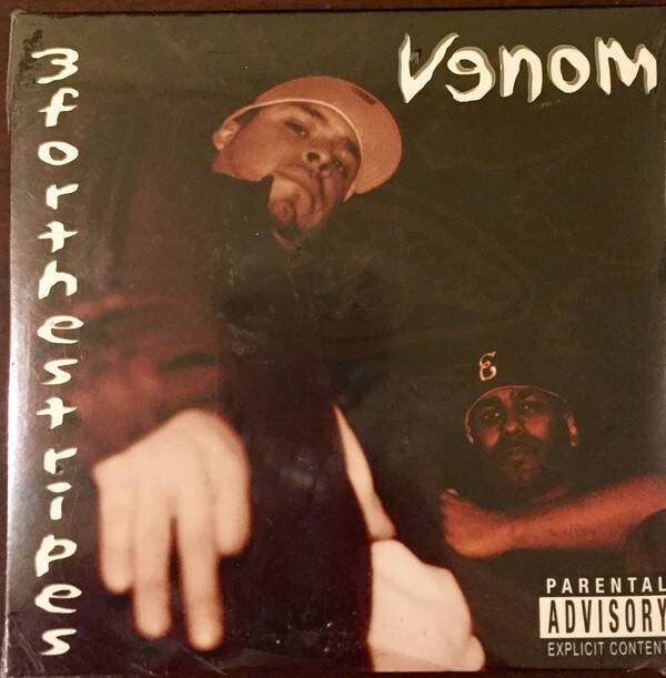 Venom Ent. ‎– 3forthestripes (Promo Maxi-Single) CD