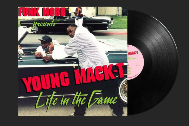 YOUNG MACK T- LIFE IN THE GAME 1995-2021 REISSUE (STOCKTON, CA) LP