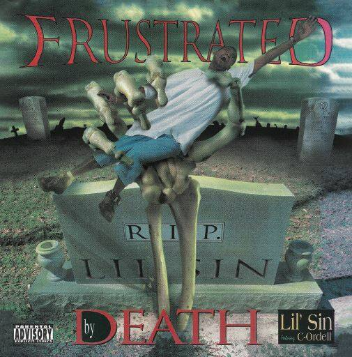 SWE002 / Lil Sin - Frustrated By Death CD