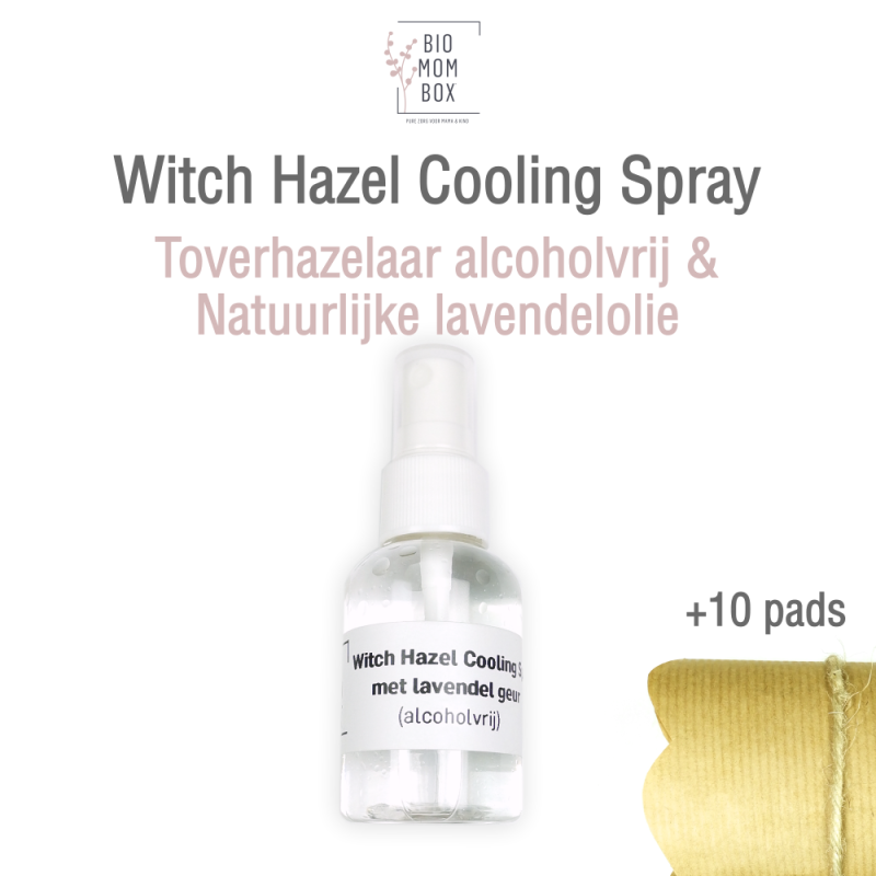 Witch Hazel Cooling Spray (+10 pads) | 50ml