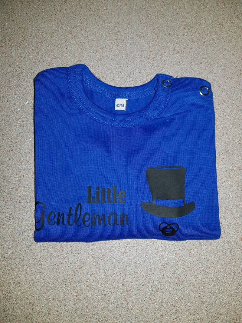 Shirt lange mouwen little gentlemen