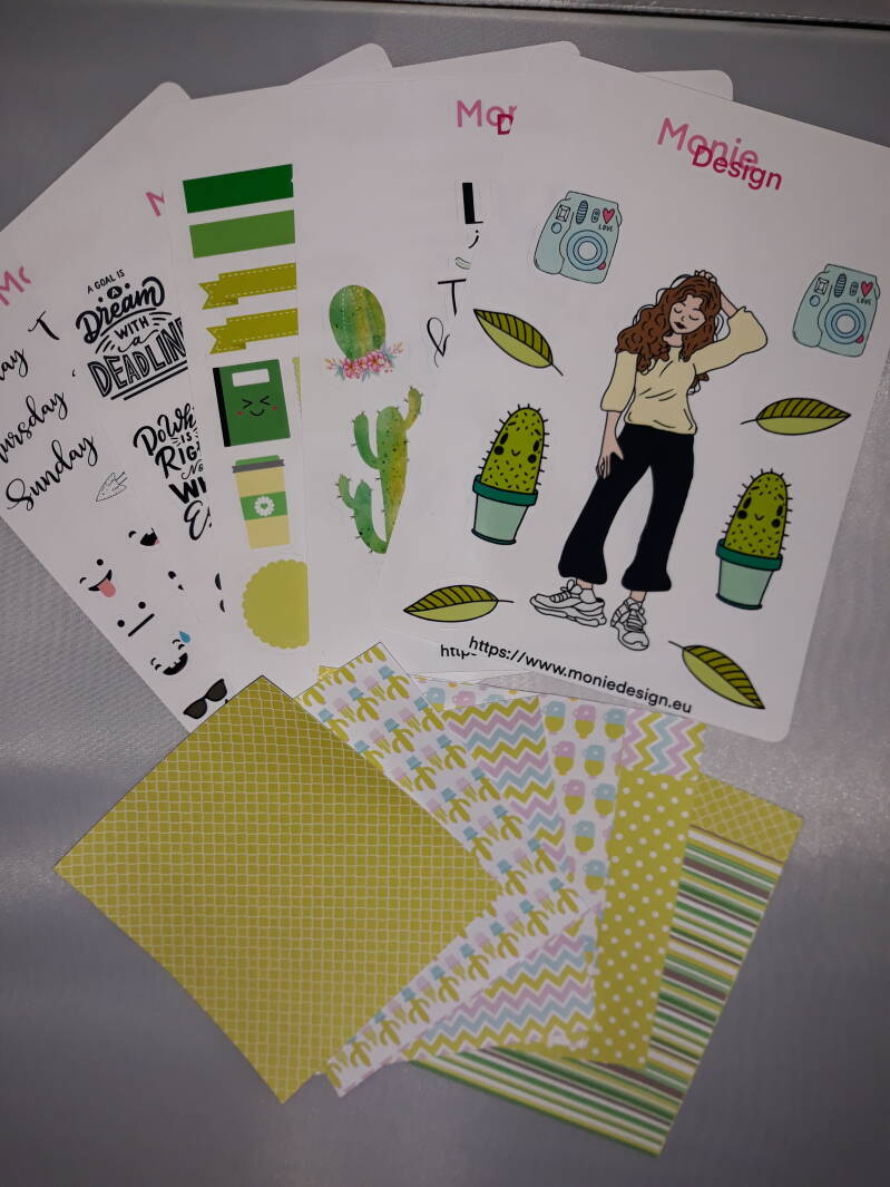Plannerstickers catalina style