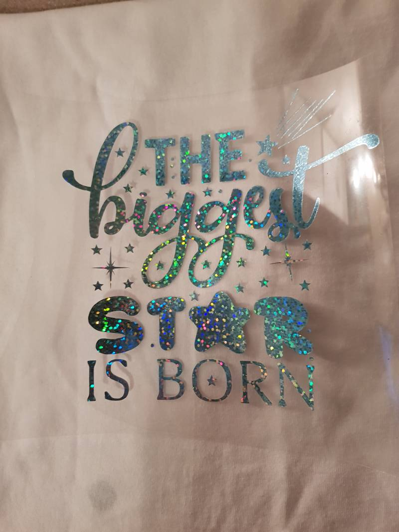 The biggest star is born holografische print