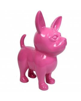DHC90 Hond chiwawa roos polyester résine 90 cm
