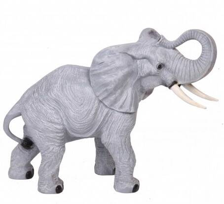 Dol90 Jungle olifant polyester résine 90 cm