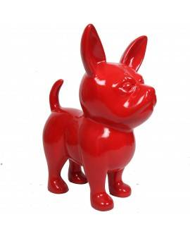 DHC90 Hond chiwawa rood polyester résine 90 cm