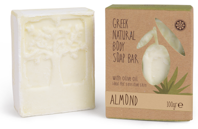 Body Soap Bar Amandel