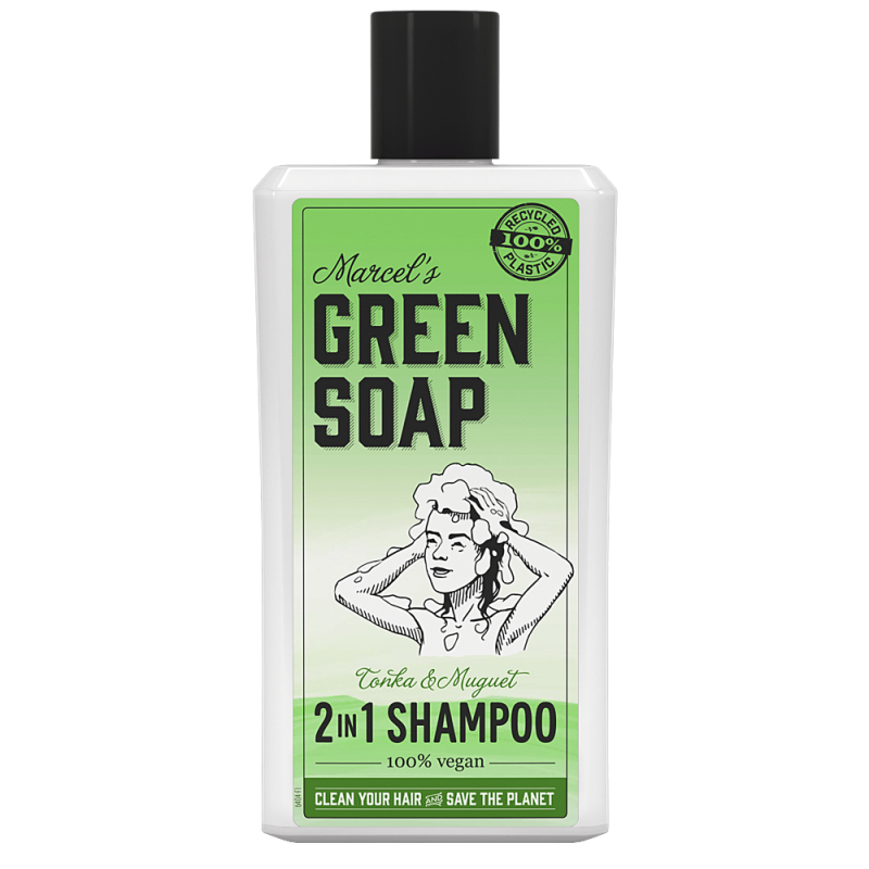 Marcel's Green Soap 2 In 1 Shampoo