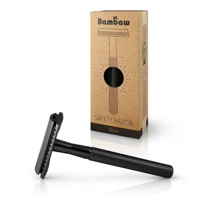 Safety Razor RVS Black
