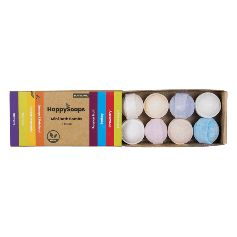 Happy Bath Bombs Tropical Fruits