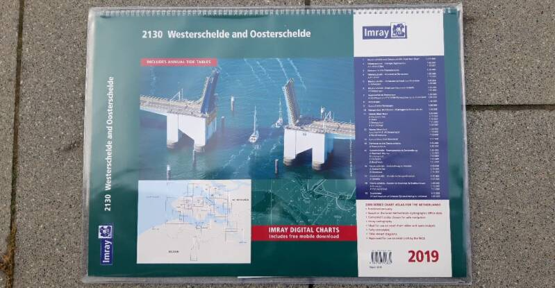 IMRAY WESTERSCHELDE AND OOSTERSCHELDE CHART PACK 2130
