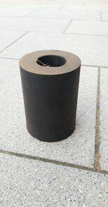 RUBBER SPACER 125 MM