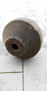 "BOL RUBBER 18 ""= 45CM SOLID SPHERICAL"