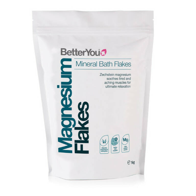 BetterYou Magnesium Mineral Bath Flakes 250g
