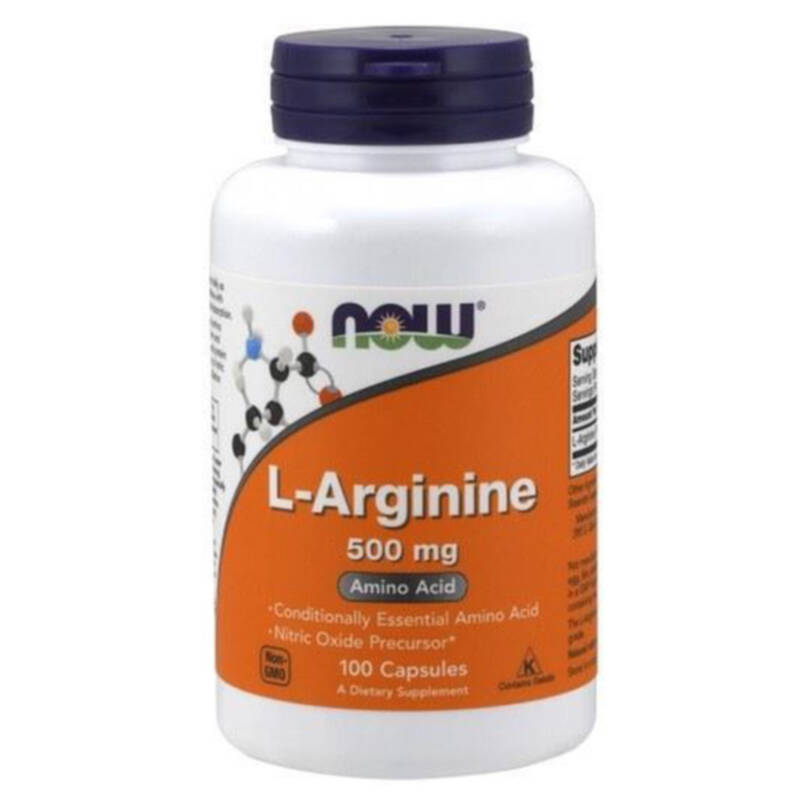 NOW FOODS L-Arginine 500 mg 100 Caps