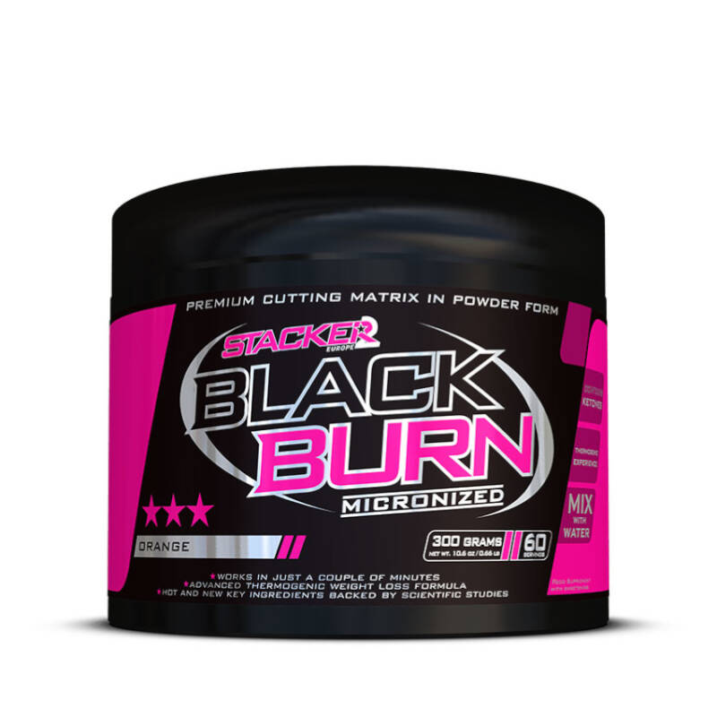Stacker2 - Black Burn Micronized