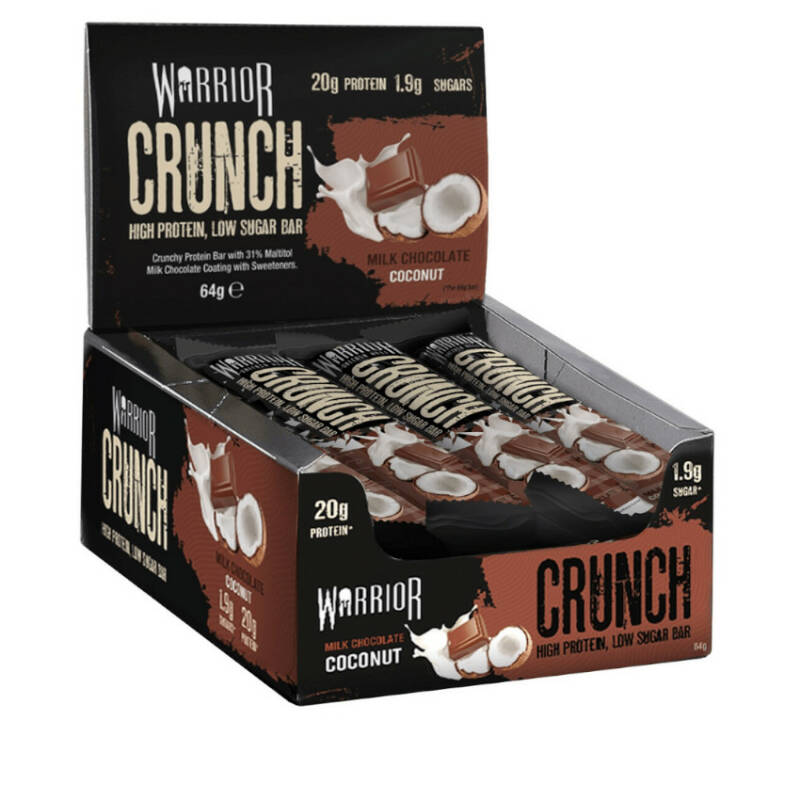 Warrior - Crunch Milk Chocolate Coconut