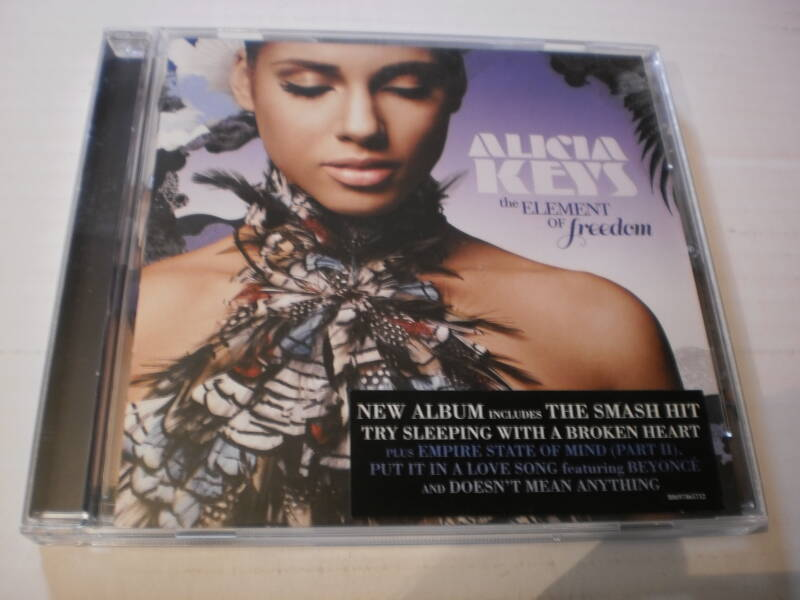 Cd Alicia Keys - The element of Freedom