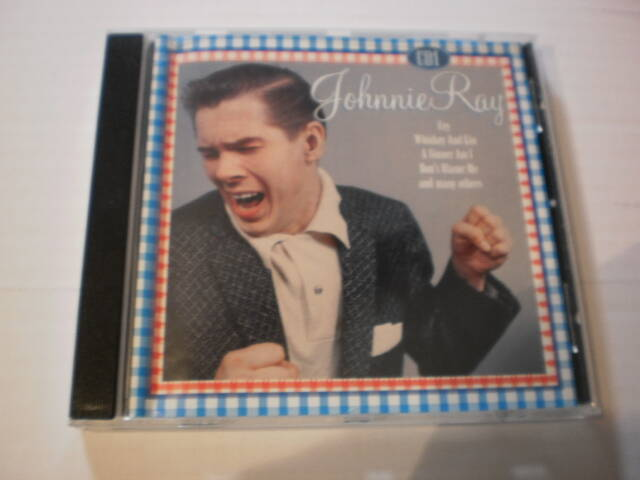 CD Johnnie Ray - Just walking in the rain