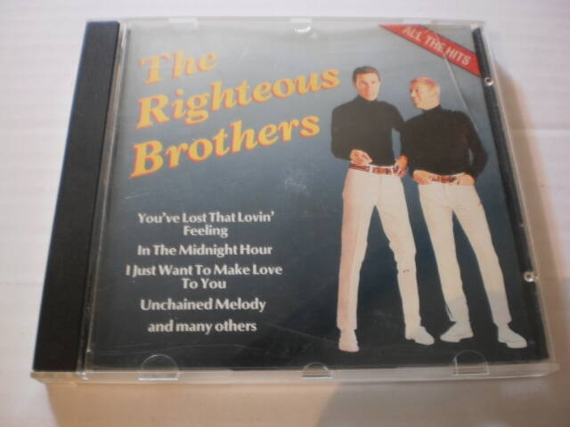 CD The Righteous Brothers -  all the hits