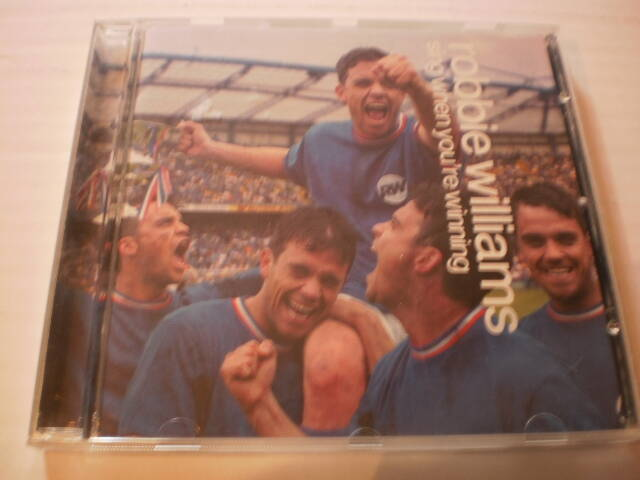 CD Robbie Williams - Sing when you're winning