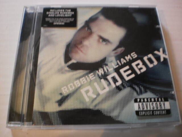 CD Robbie Williams - Rudebox
