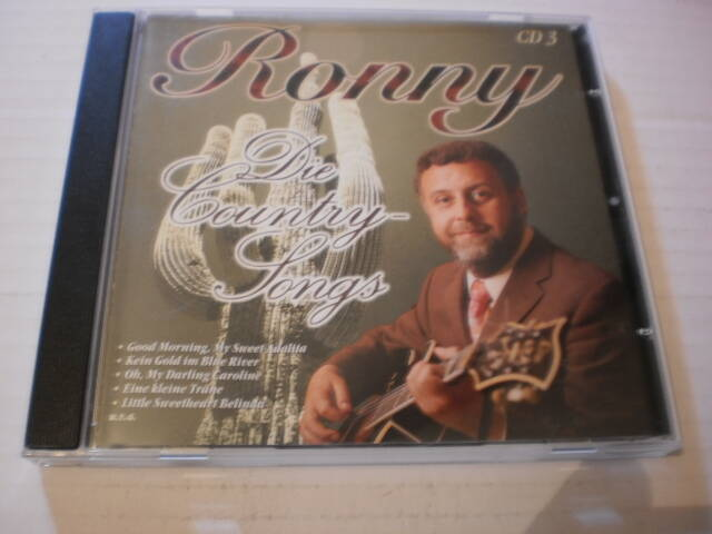 CD Schlager Ronny - Die Country Songs