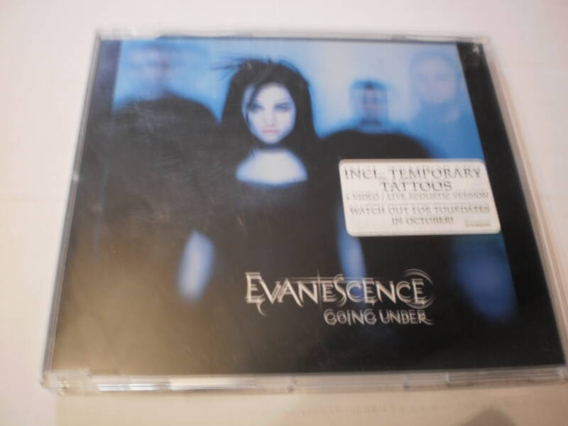 CD Single - Evanescence - Going Under